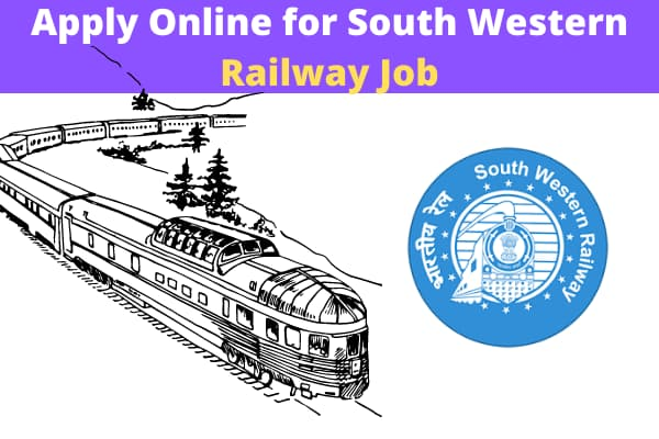 Apply Online for South Western Railway Job