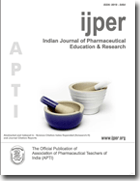 Indian Journal of Pharmaceutical Education and Research