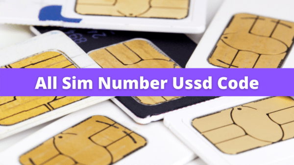 All Sim Number Check Code List
