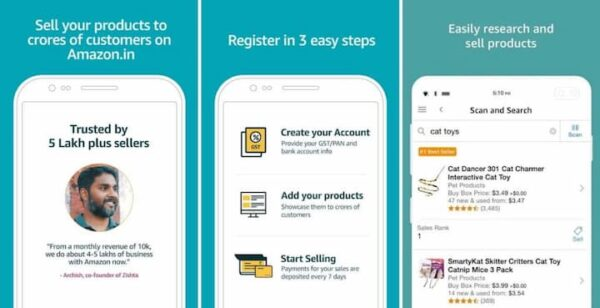 Amazon Seller Market Place Best Reselling App In India