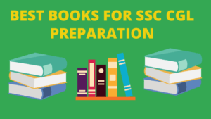 Best Books for SSC CGL Preparation