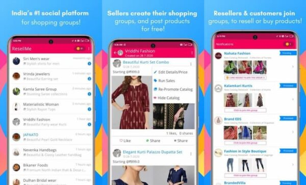 ResellMe Best Reselling App In India